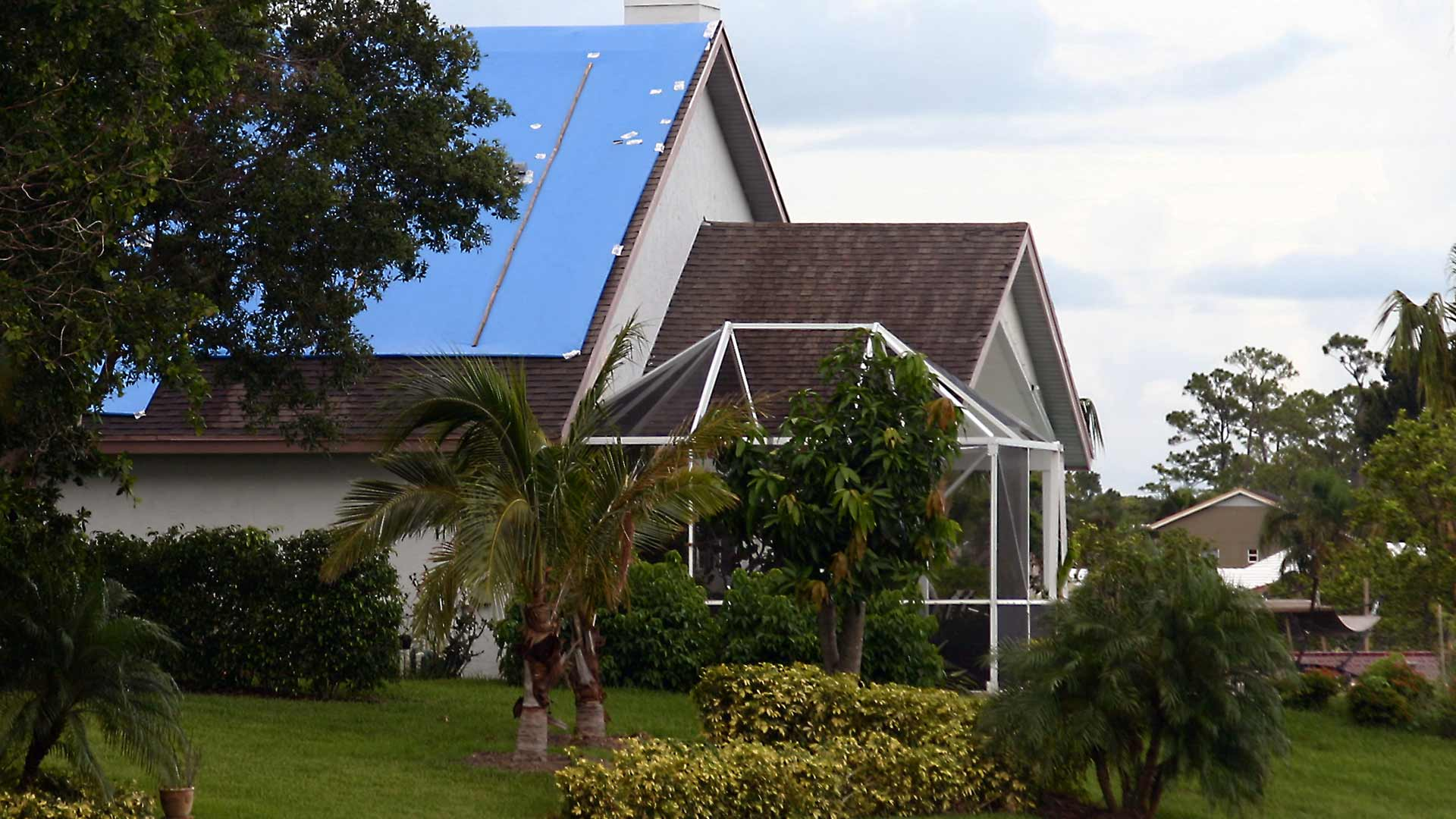 Is a Tarp Effective for Protecting Your Home After a Hurricane?