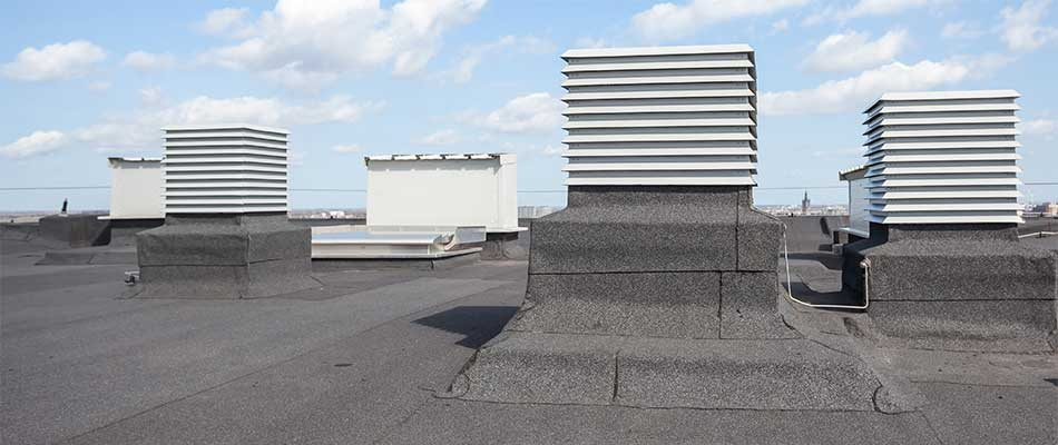 Commercial roofing services at a Winter Haven, FL property.